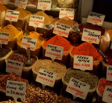 bazar especias estambul