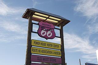 Cartel de la Ruta 66