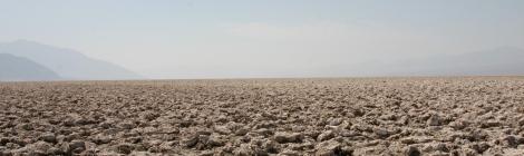 El Campo de Golf del Diablo en el Valle de la Muerte