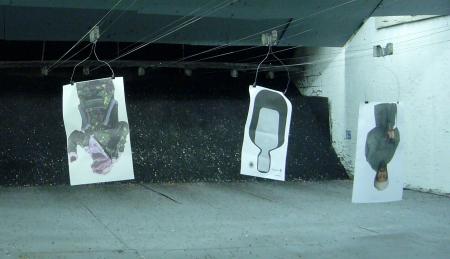 galería de tiro en The Gun Store de Las Vegas