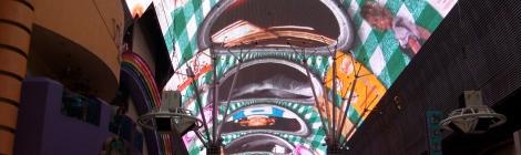Pantalla gigante de la calle Fremont