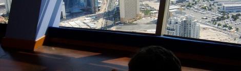 Mirador de la torre del hotel Stratosphere