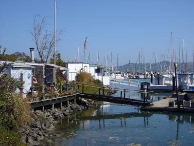 Casas barco de Sausalito