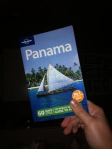 La Lonely Planet de Panamá regalo de unos amigos