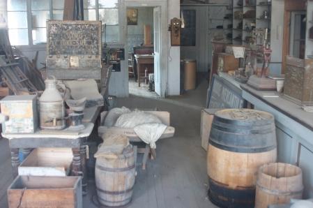 Una tienda de Bodie