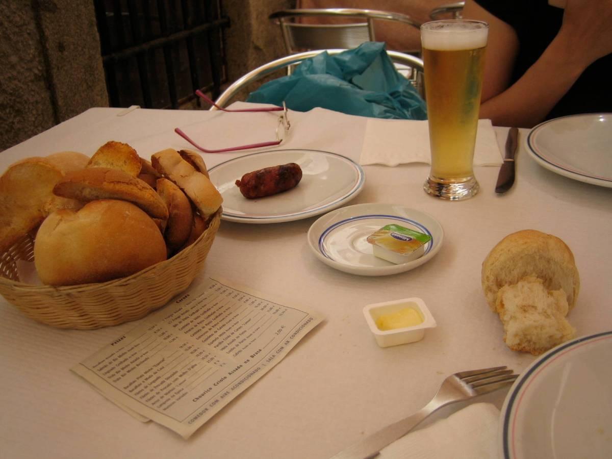 Comer en Portugal: la costumbre del Couvert