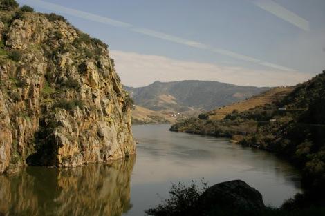 Río Douro entre Pinhao y Pocinho