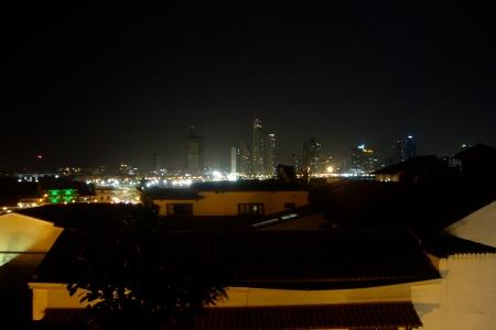 Skyline de Panamá desde la azotea del hotel Nuratti