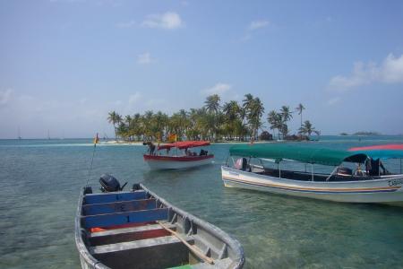 barcas en banedub, guna yala