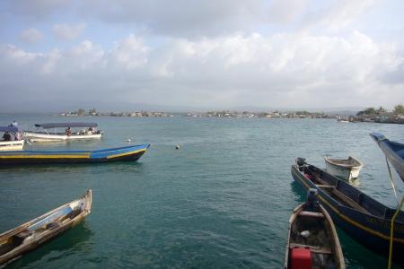 Llegada al puerto de Cartí Tupile
