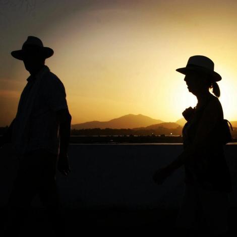 puesta de sol en panama