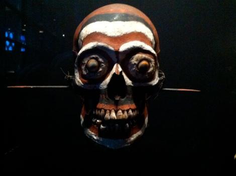 cráneo decorado