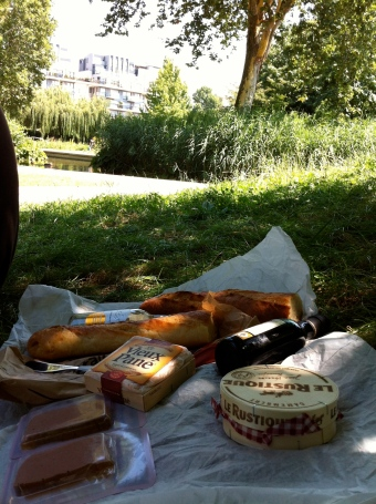 picnic en paris