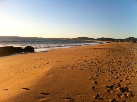 playa de Vilar en Corrubedo