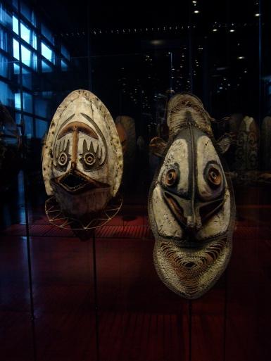 Mascaras quai branly