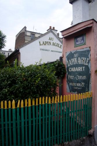 lapin Agile en Montmartre