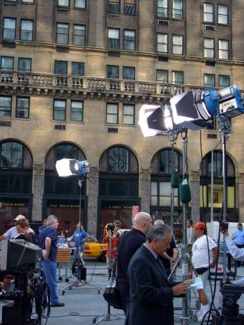 Rodaje en Nueva York