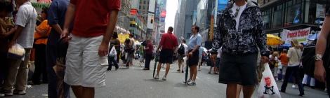 gente en Nueva York