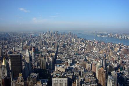 Vistas de Nueva York desde el Empire Estate Building