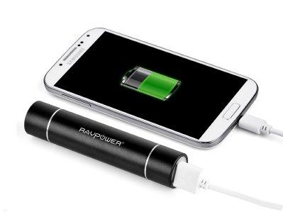 Batería portatil con linterna incorporada perfecta para viajeros