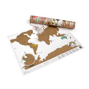 Mapa mundi de rascar de 42x30cm. 10.95 €