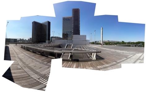 plataforma superior de la biblioteca nacional de francia