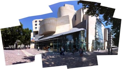 Edificio de la Cinématéque Francaise en Bercy.