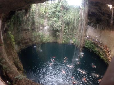 El cenote de Ik Kil