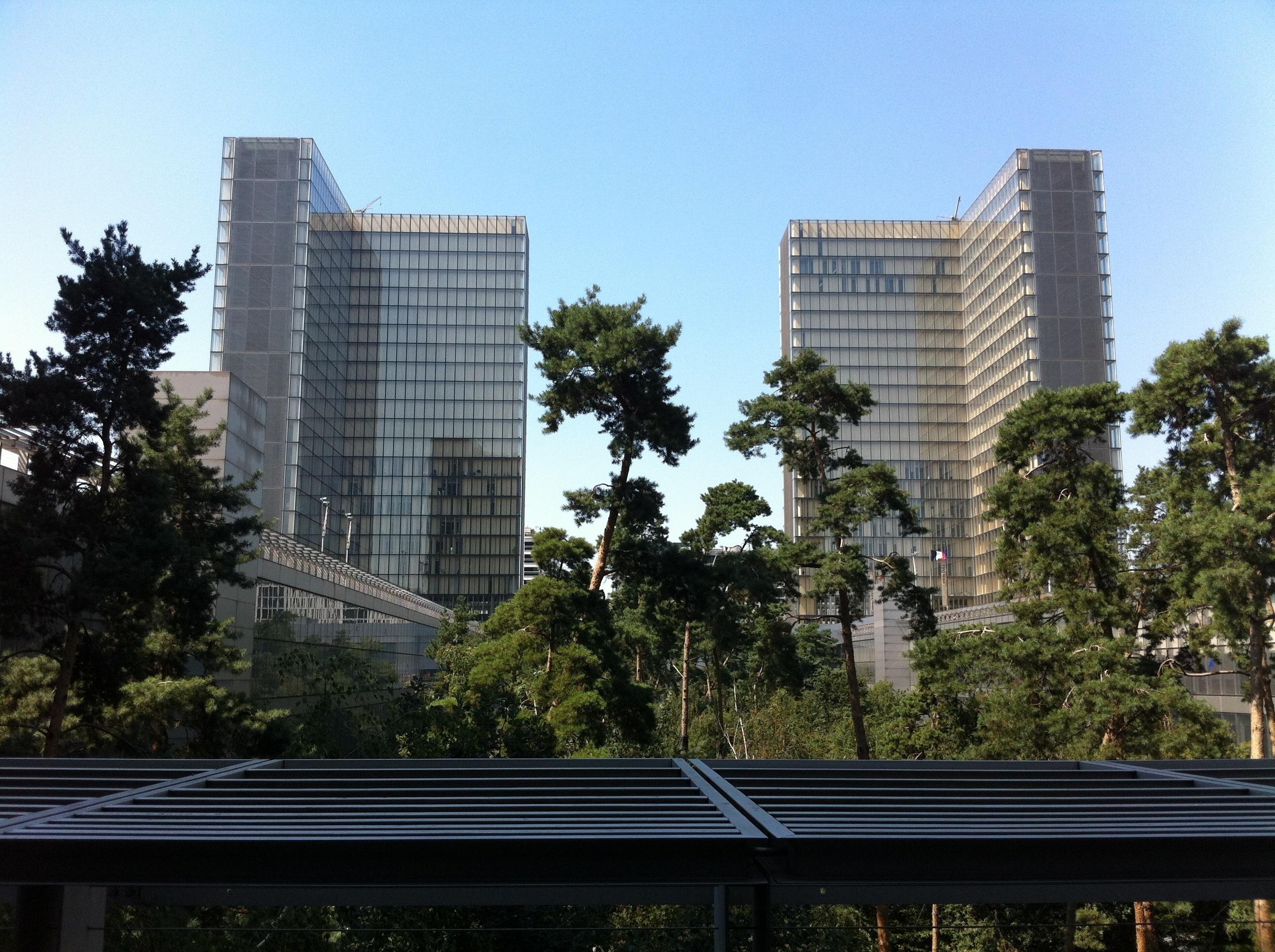 torres de la biblioteca nacional de francia