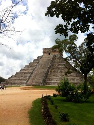 Pirámide de Kukulcan en Chichén Itzá