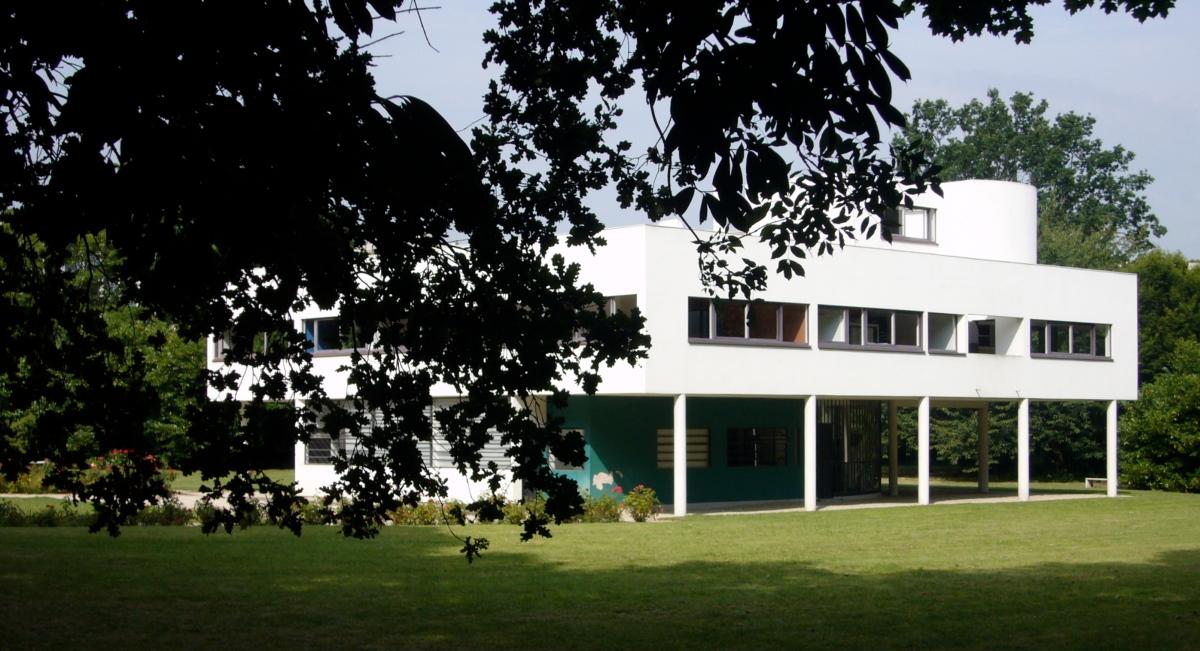 Villa Saboya, una joya de la arquitectura a 45 minutos de París