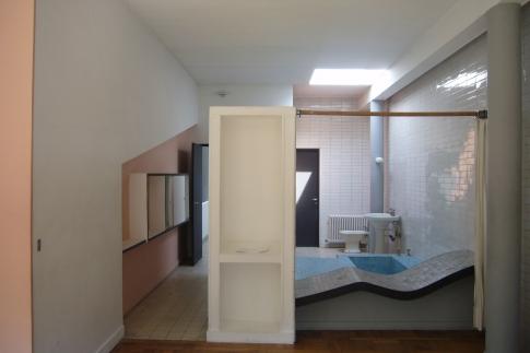 baño del dormitorio principal de la villa saboya