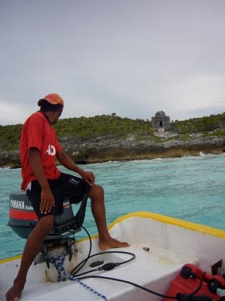 visita por mar a las ruinas de tulum
