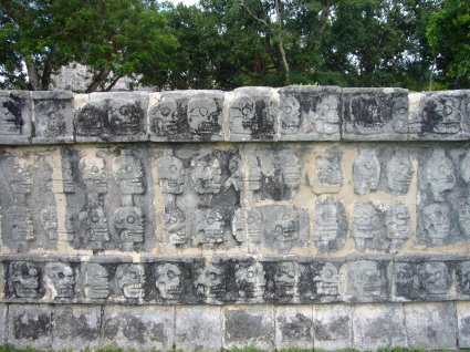 El culto a la muerte en Chichén Itzá