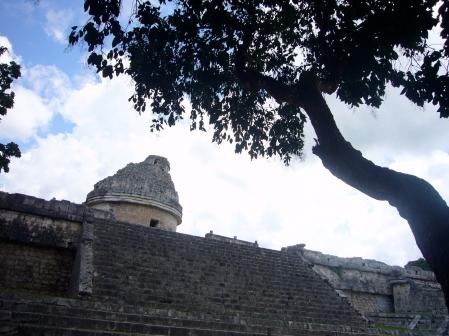 El observatorio astronómico de Chichén Itzá