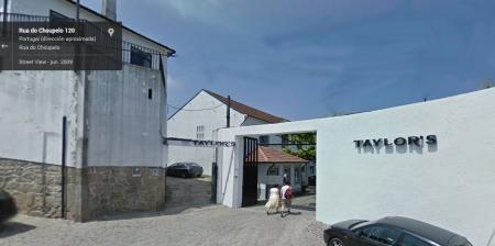 Bodega Taylors en Vila Nova de Gaia.