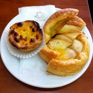 Pastel de Belén típico de Portugal