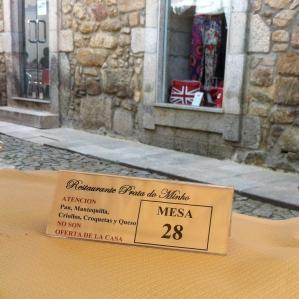 restaurante de valenca advirtiendo del couvert