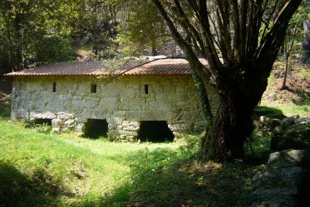 molino en la ruta da pedra a da auga