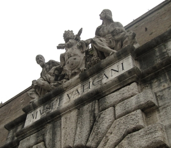 puerta museos vaticanos