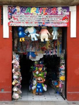 Juguetería en Mérida