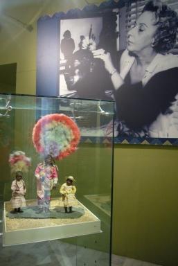 Piezas de la exposición permanente del Palacio Cantón.