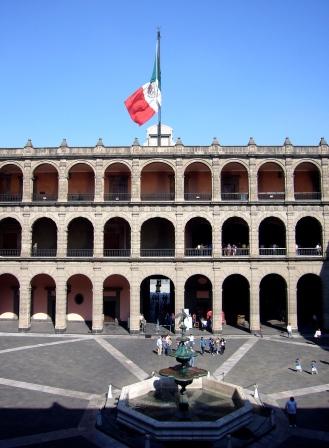 Patio del Palacio Nacional