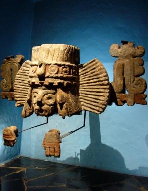Brasero Tláloc.Formaba parte del basamento del Templo Mayor y es una de las piezas más hemosas del museo. Muse
