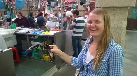visita al mercado de pontevedra
