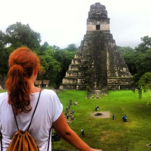pirámide del jaguar en Tikal