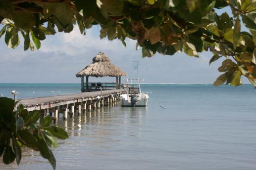 muelle del xanadú island resort en San Pedro, Belice