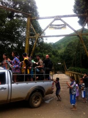 las Pick-ups son uno de los medios de transporte más usados de Guatemala