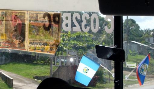 Autobús directo de Belice City a Flores en Guatemala