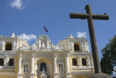 Iglesia de la Merced en Antigua Guatemala